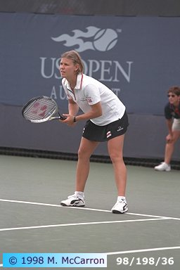 Anke Huber - Advantage Tennis Photo site, view and